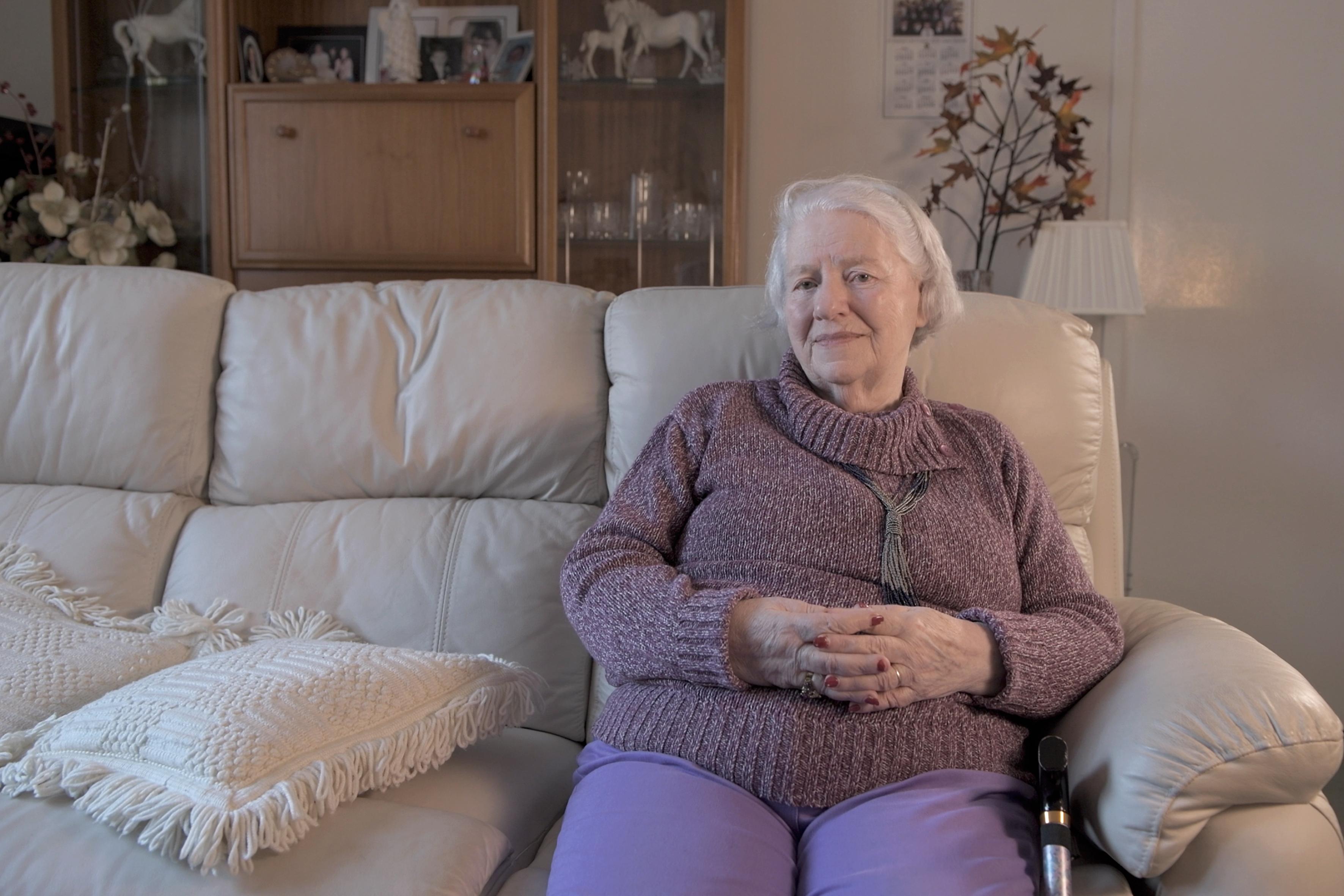 Irene Smeaton, stroke survivor