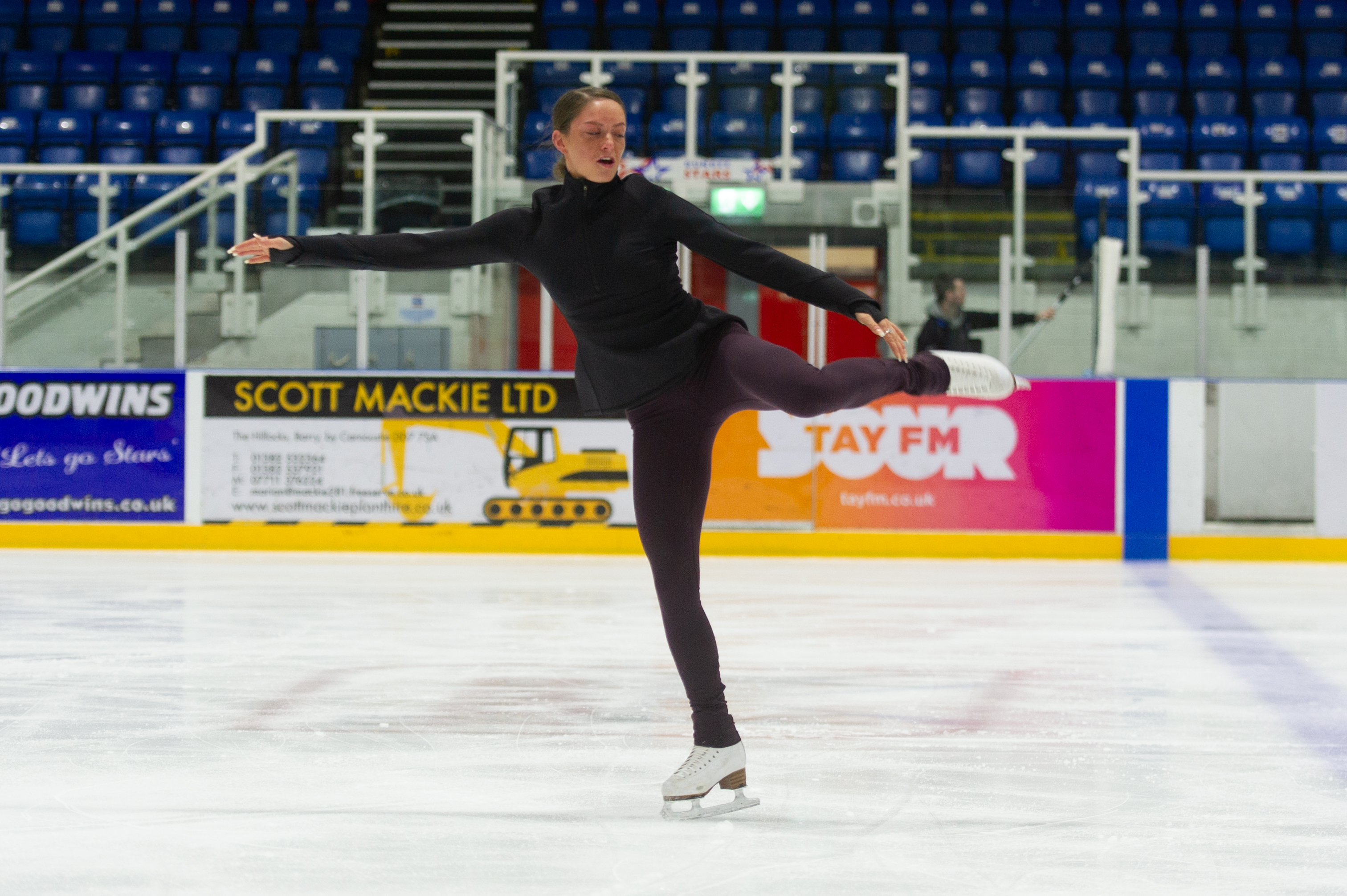 Natasha McKay is in Japan for the World Figure Skating Championships.
