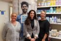 Michelle Robertson, pharmacist Rafaella Pangeiou and Tracey Kerrigan, Quit Your Way health promotion practitioner