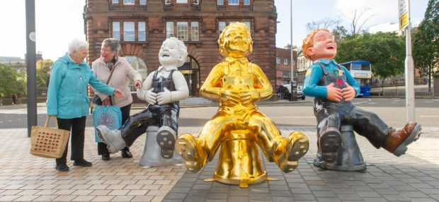 It's hoped the Oor Wullie Big Bucket Trail will raise thousands for charity