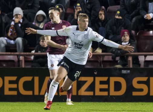 Andrew Nelson notched in a win at Hearts.