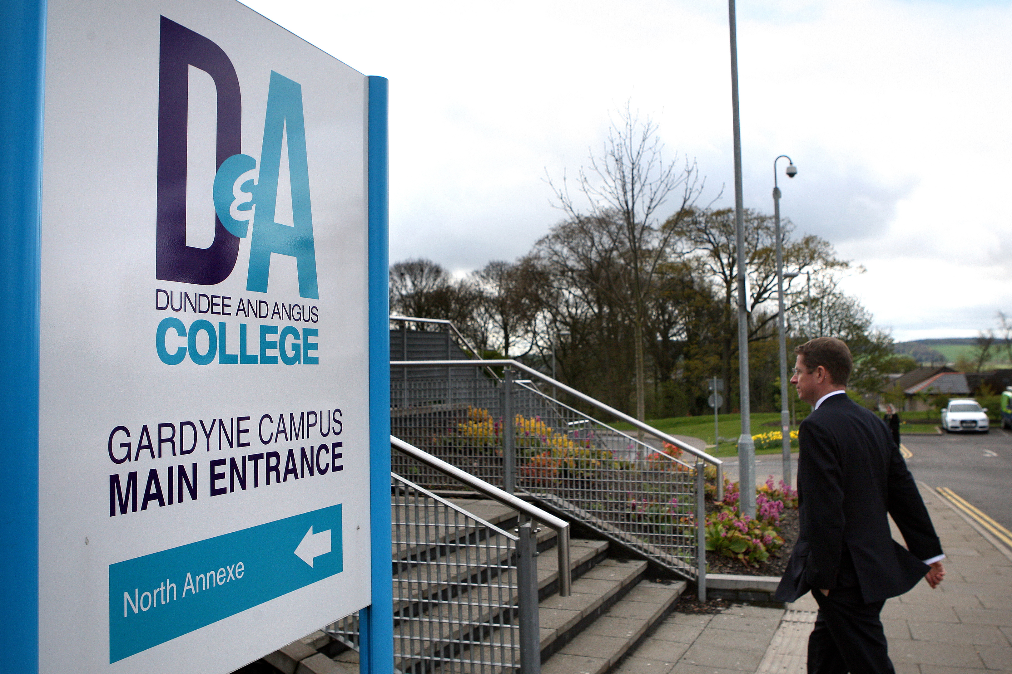 Dundee and Angus College's Gardyne Campus.