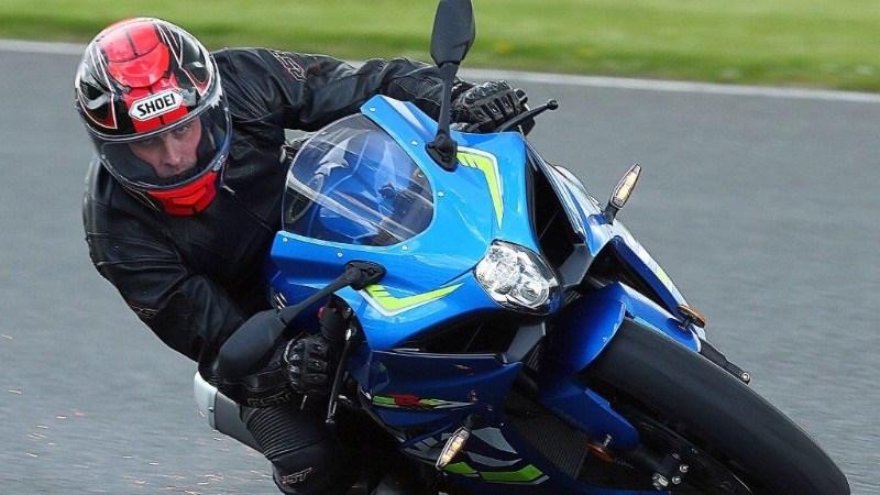 Keen biker Graeme Bell was also a motorcycle salesman
