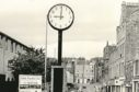 The Lochee Clock was a fixture of the high street