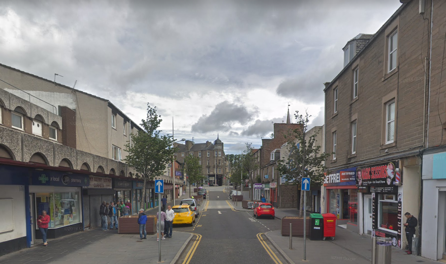 Lochee High Street (stock image)