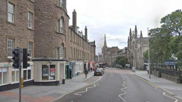 The assaults took place in Dundee's Nethergate