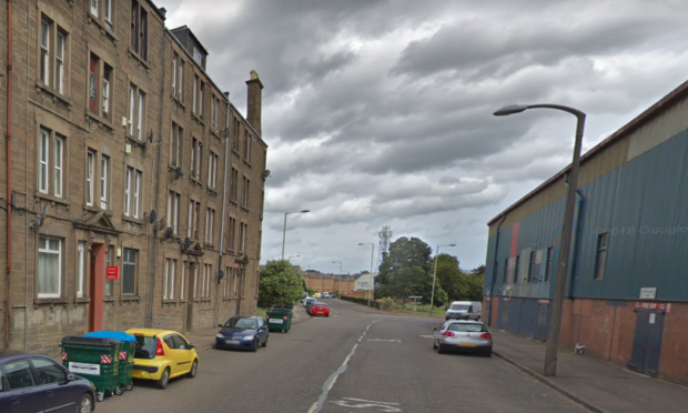 The offence took place in Sandeman Street