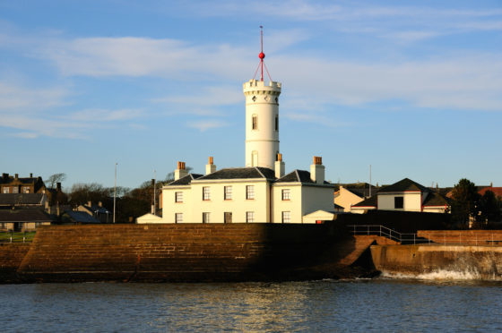 The Signal Tower Museum in Arbroath
