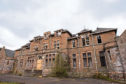 The old Strathmartine Hospital.