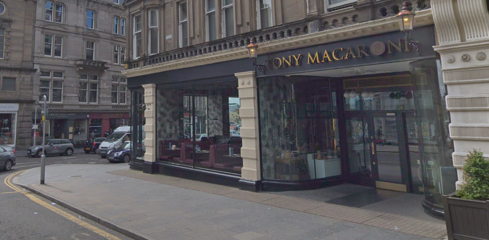 One of the alleged offences is said to have taken place in Tony Macaroni