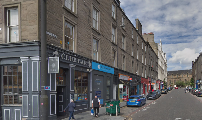 The stalking is alleged to have taken place in Union Street.
