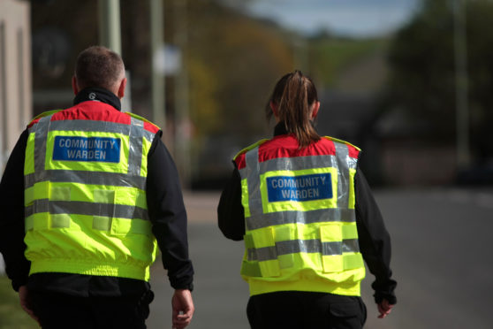 There were 17 attacks on community wardens last year in Angus.