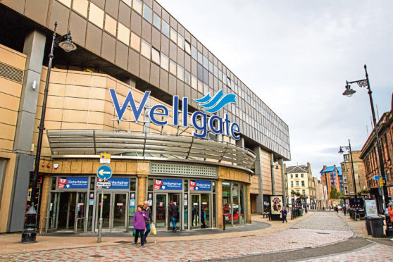 The incident is alleged to have taken place outside the Wellgate Centre on Murraygate.