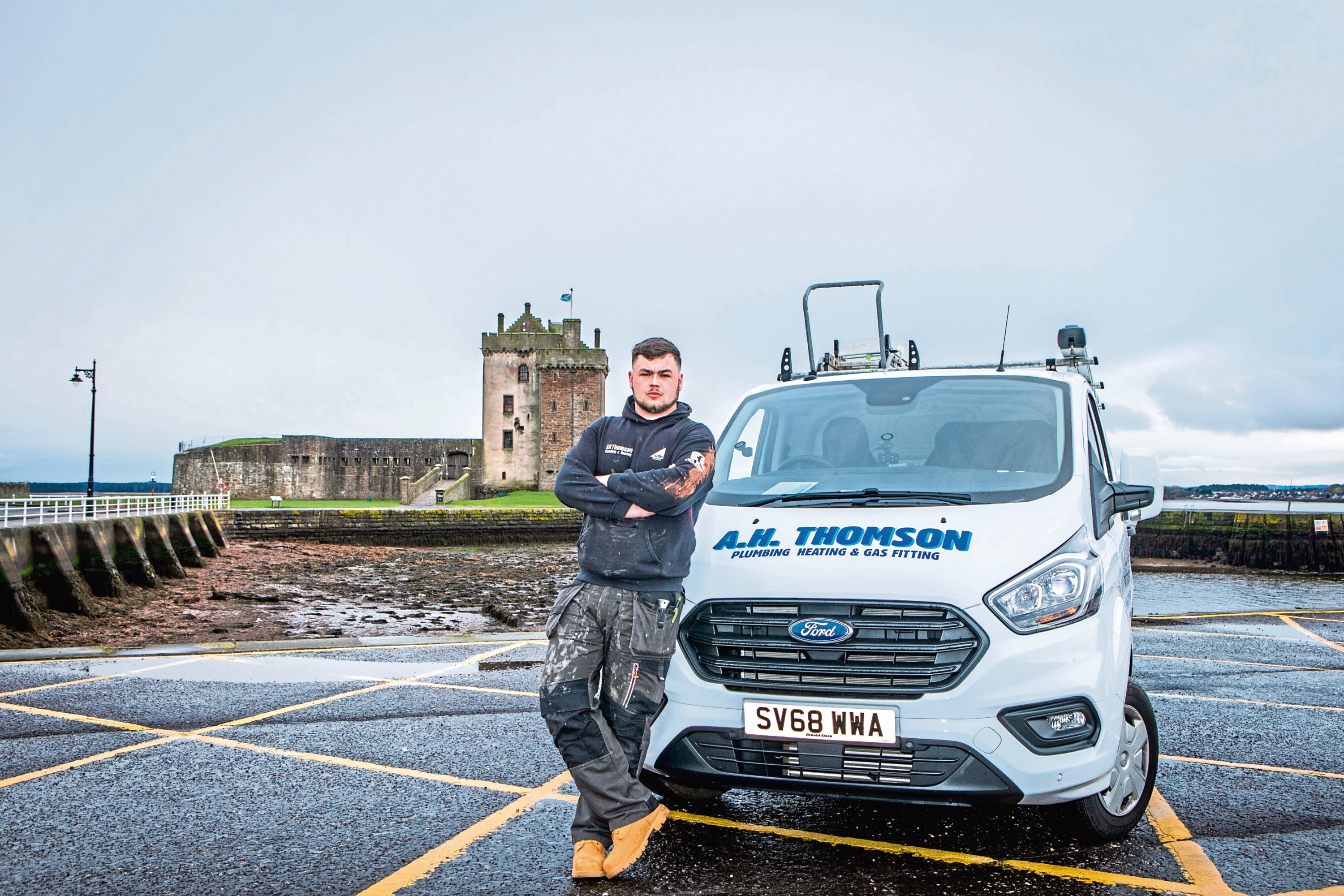 Andrew Hutton Thomson carried out work for free, along with other city tradesmen.