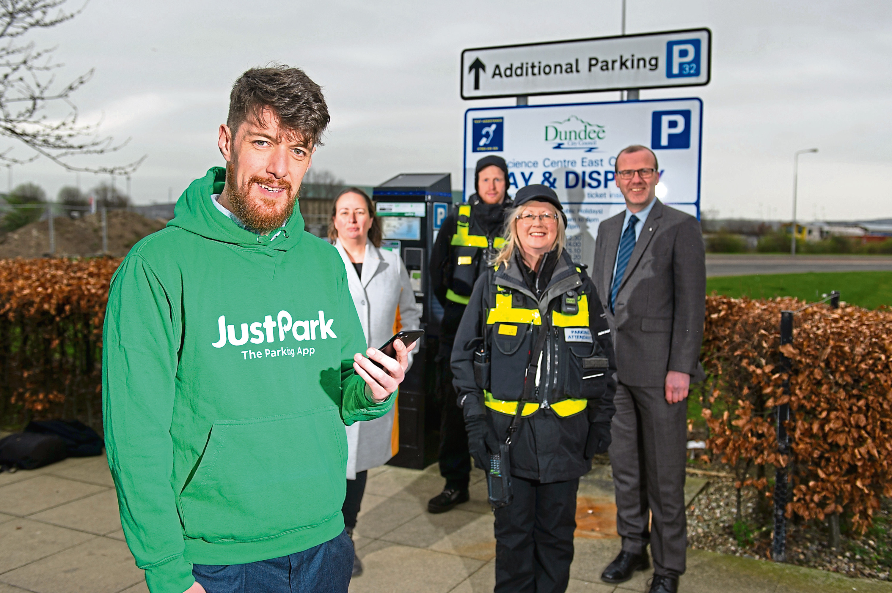 Using the JustPark app, you will now be able to pay for parking in any on-street bay or Dundee City Council pay-and-display car park.