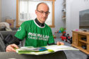 Steven Stuart is hoping to raise £2,500 for Macmillan Cancer Support
