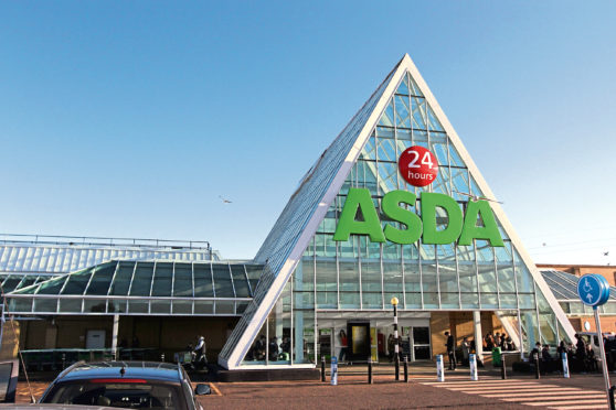 One lucky winner will take home £100 of Asda vouchers. Pictured is the Milton of Craigie store in Dundee.