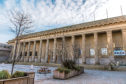 The Caird Hall.