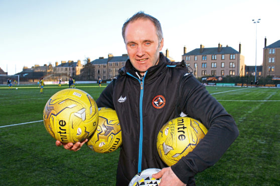 Dundee United boss Gavin Beith.