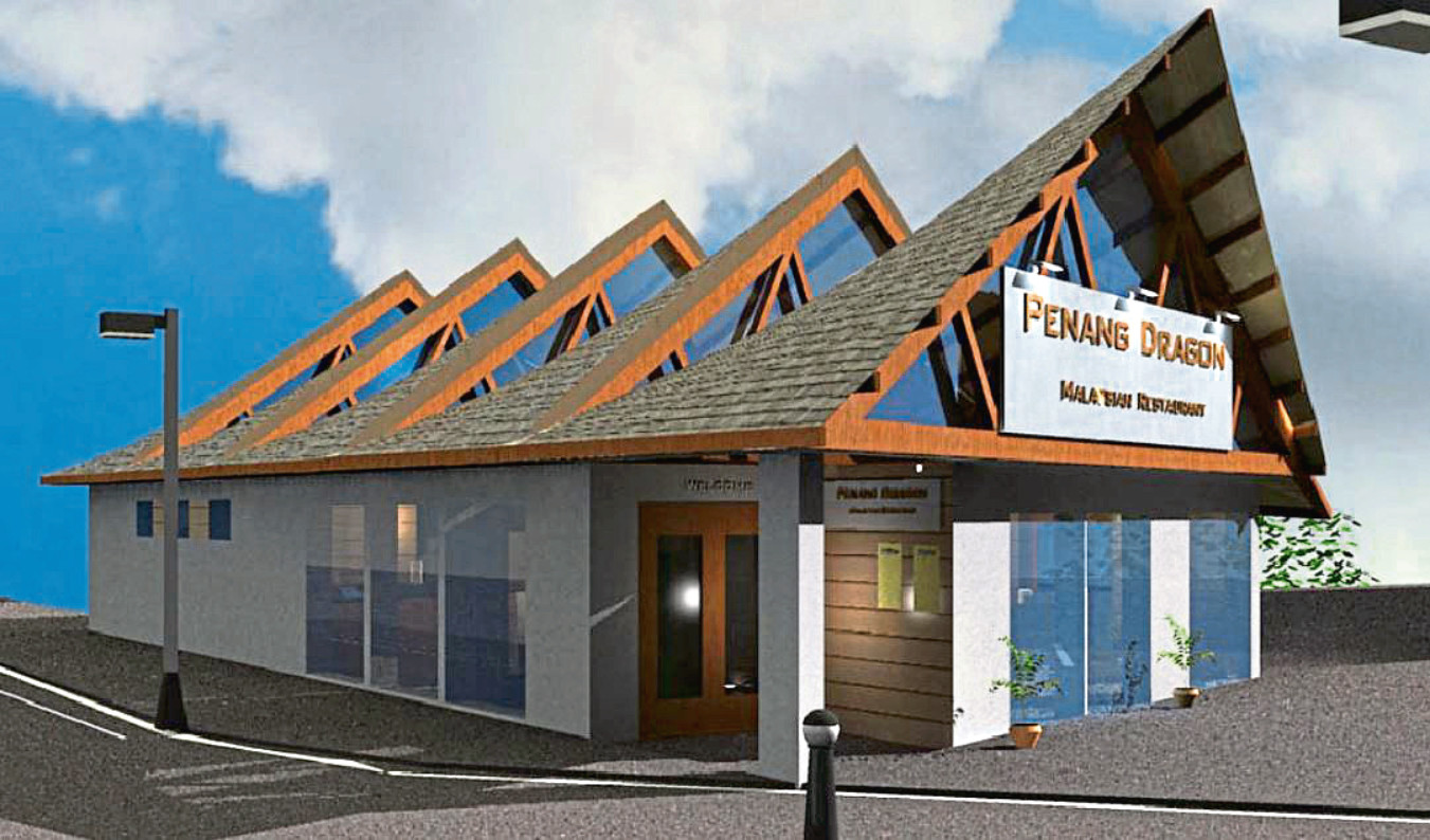 The proposed restaurant in Broughty Ferry Road