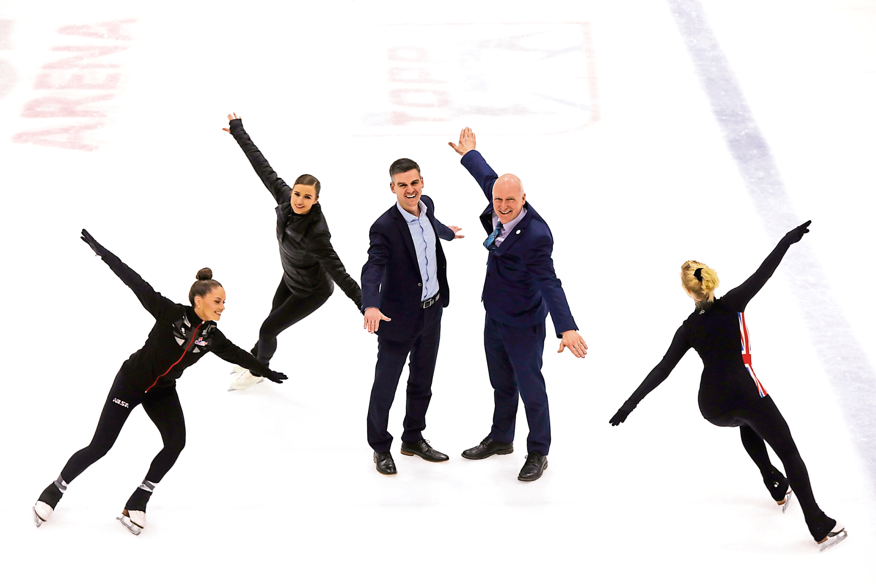 Ice Dundee, with skaters Natasha McKay, Danielle Harrison and Carly Robertson, are one club which will receive a cash injection.