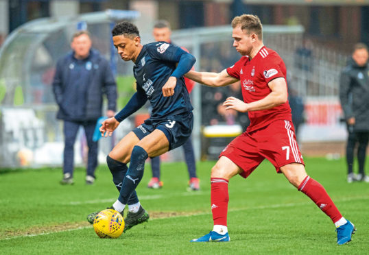 Dundee lost out 2-0 to Aberdeen at Dens Park on Saturday.