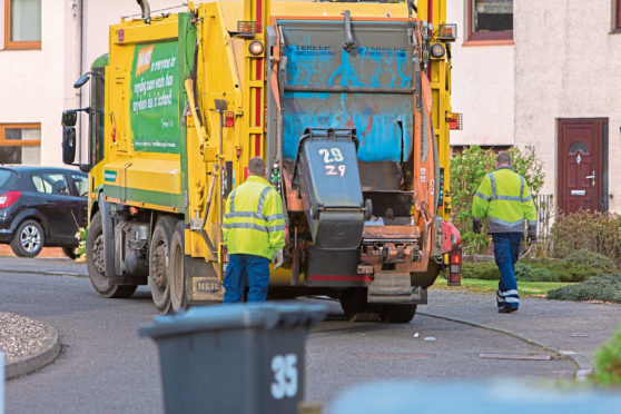 Refuse collections in Fife have been delayed.