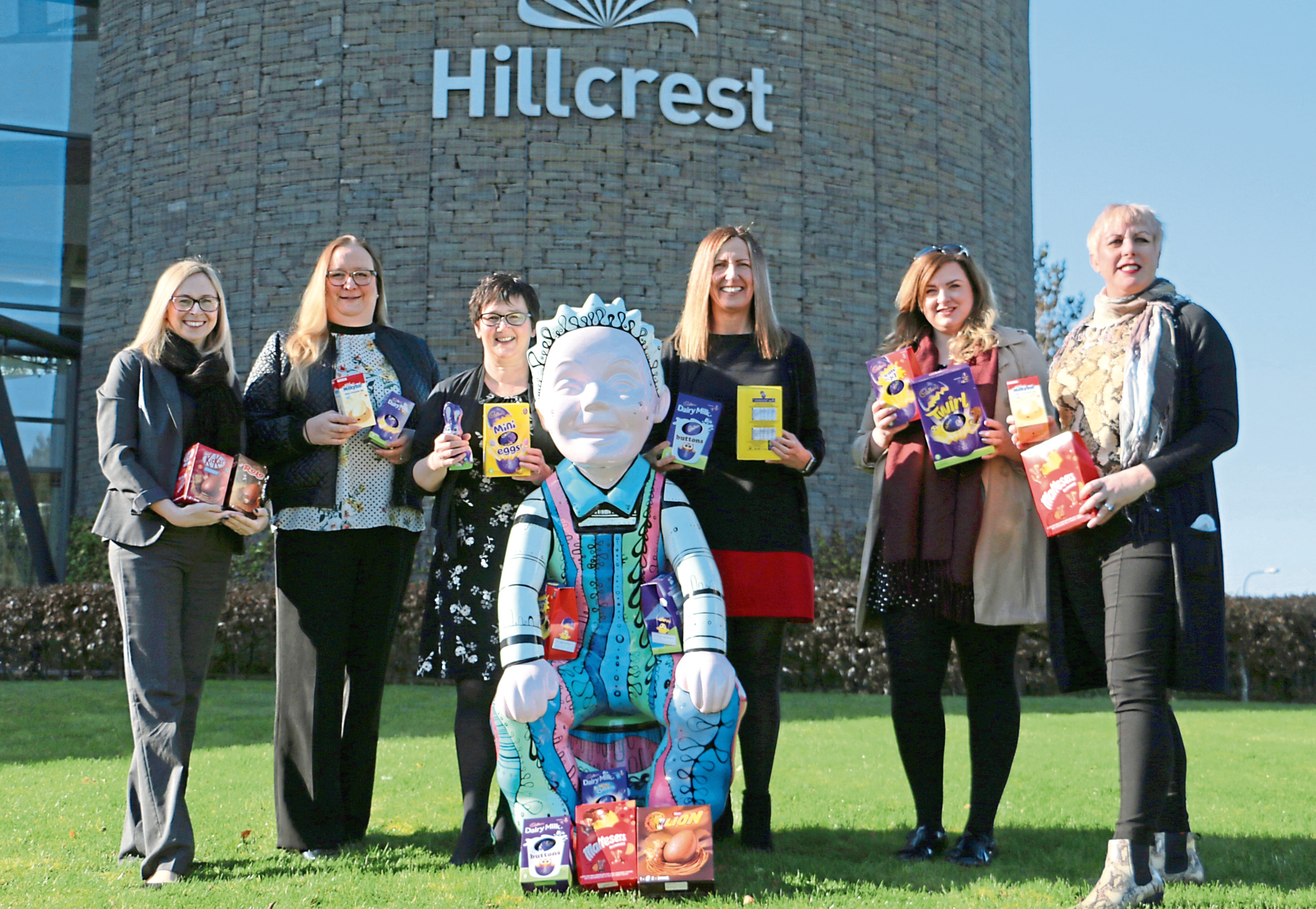 Hillcrest have teamed up with Thorntons Solicitors and Estate Agents to launch an Easter egg appeal