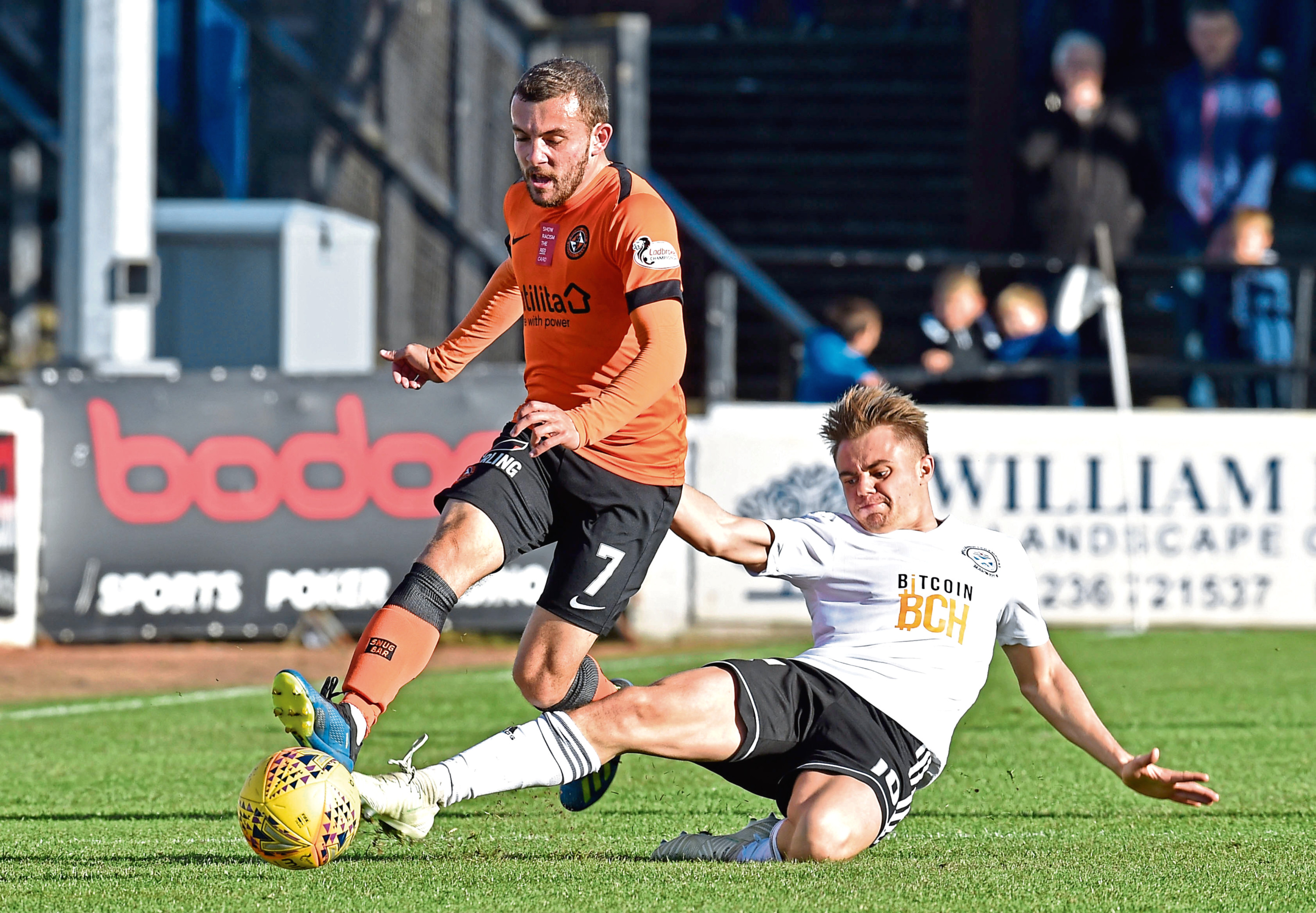Dundee United attacker Paul McMullan is angry they have not been able to pick up any points against tonight's opponents Ayr United so far this season.