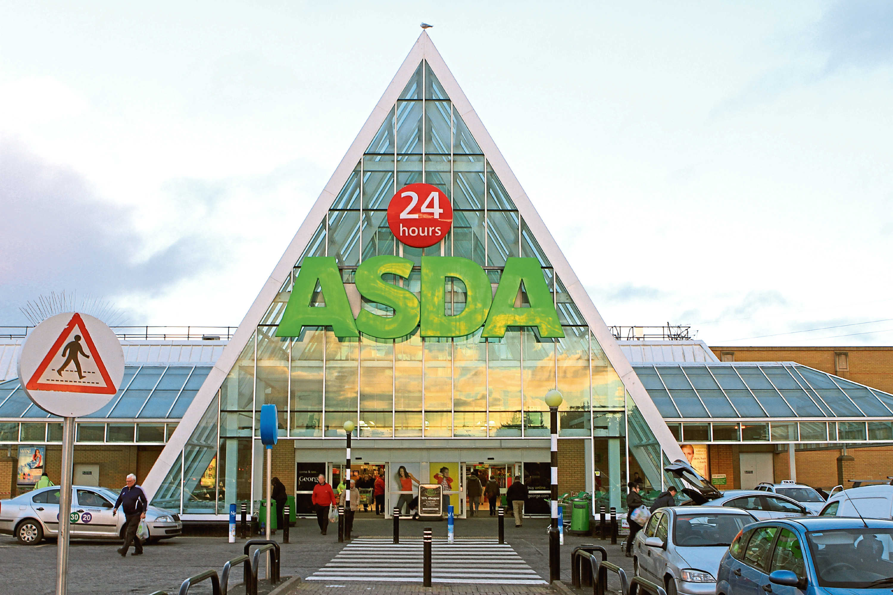 "At Asda, Milton of Craigie (above), 150 members of staff declined to move on to ""contract six"", another 80 at Dundee West and 85 at the Kirkton store"
