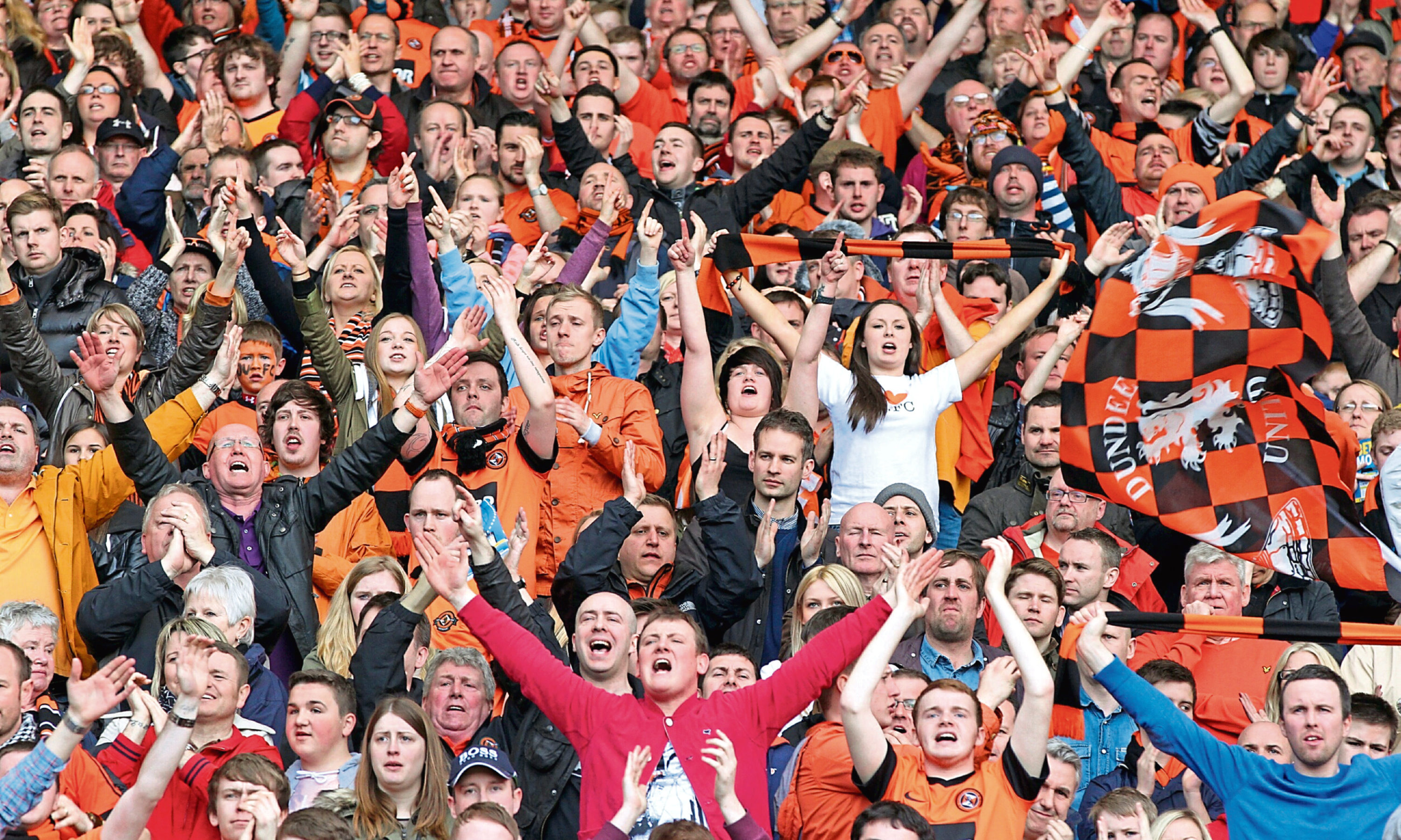 Dundee United fans are being urged to get behind the side in their league opener.