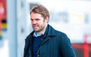 Robbie Neilson after the Partick defeat.