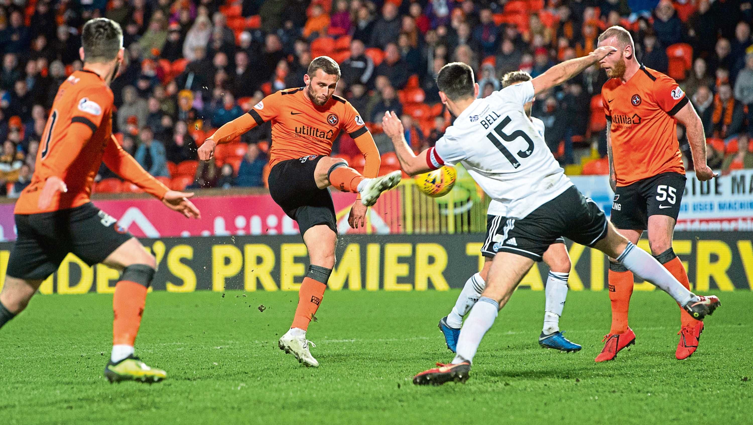 Slovakian international striker Pavol Safranko had to settle for a place on the Dundee United bench against Ayr but made a difference after coming on, firing in a superb equalising goal