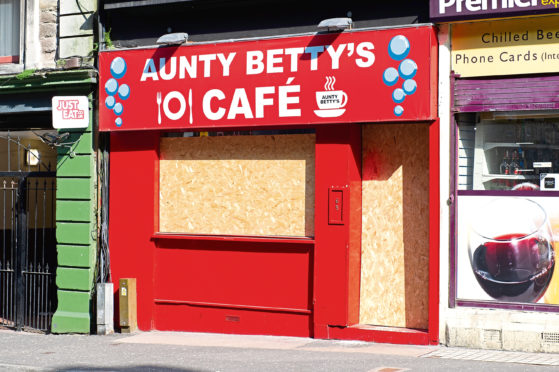 Aunt Betty's Cafe on the Seagate