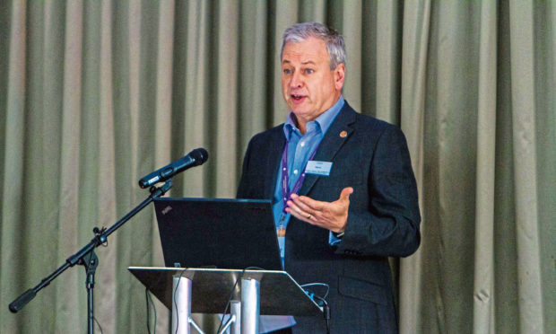 David Martin, chief executive of Dundee City Council