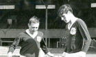Dundee players Jim and George McLean