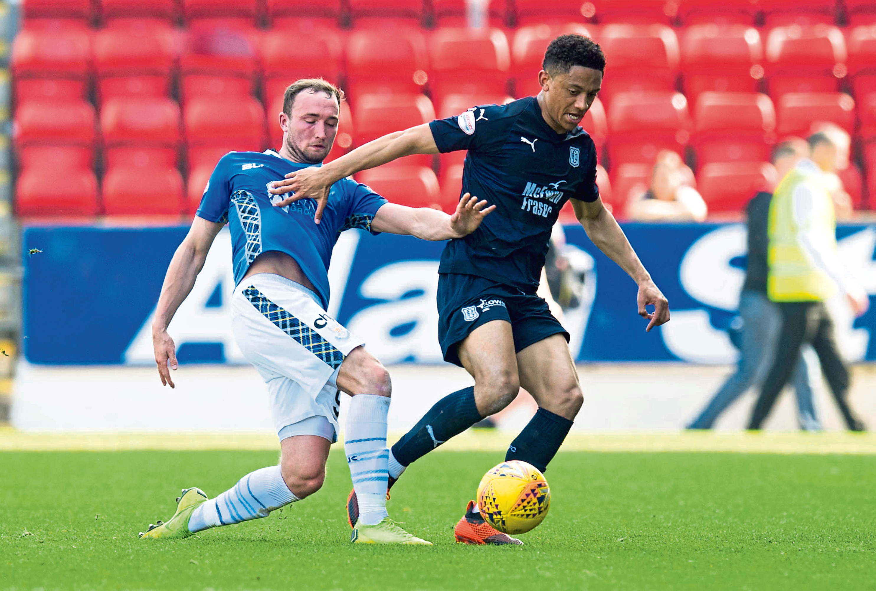 Dundee were meek in defeat to St Johnstone on Saturday.