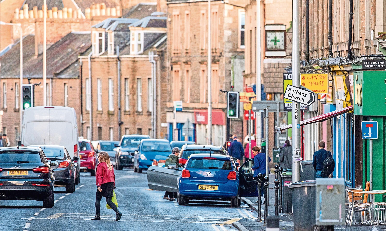 Perth Road (stock image)