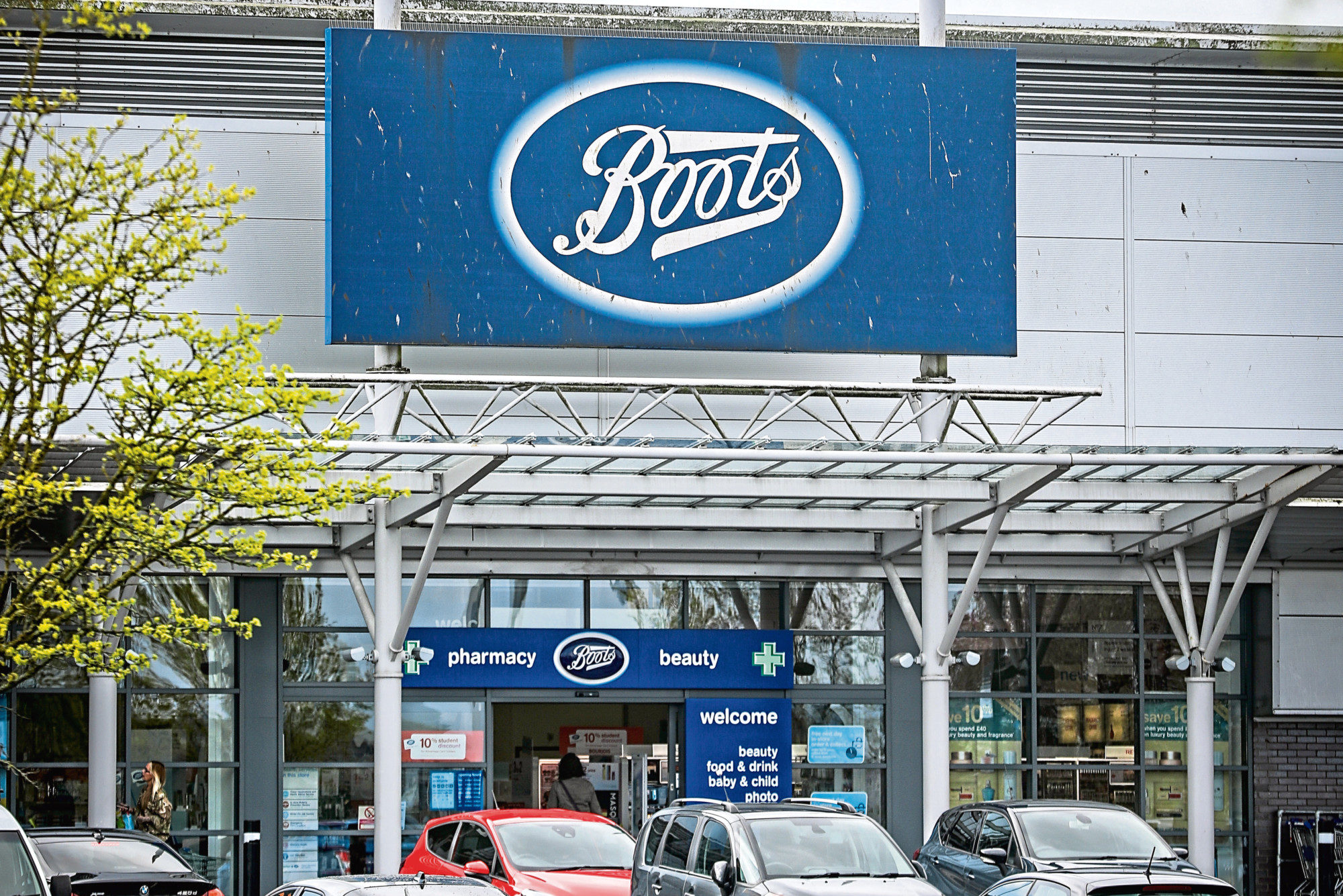 Boots at the Kingsway West Retail Park.