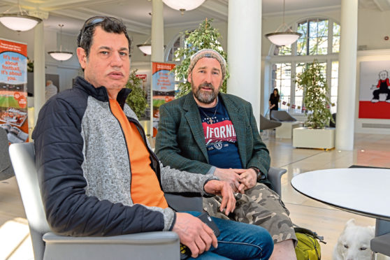 Ric May and Stef Ollandini are aiming to open a drug rehab clinic