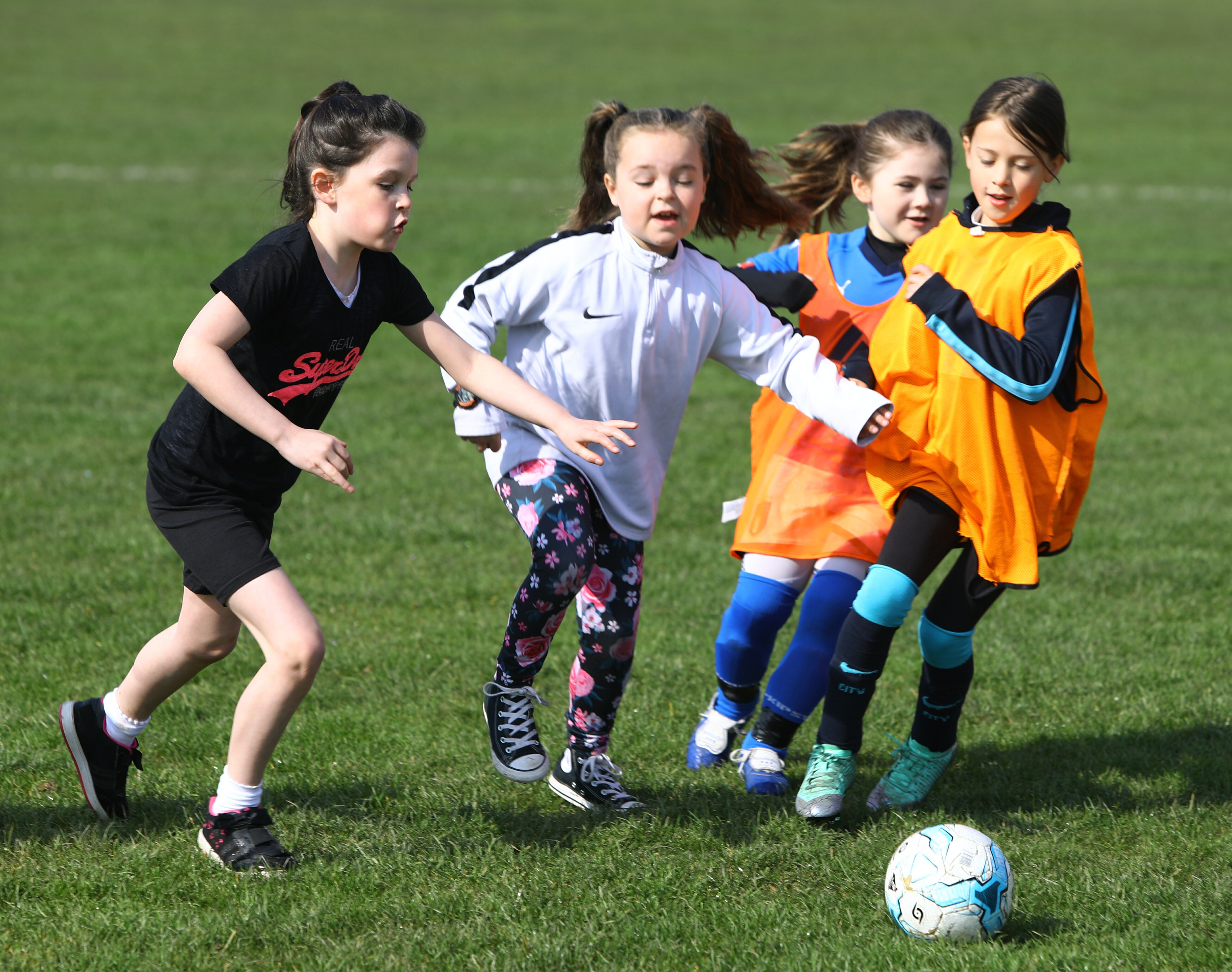 Dundee West hope to increase engagement in football among young girls.