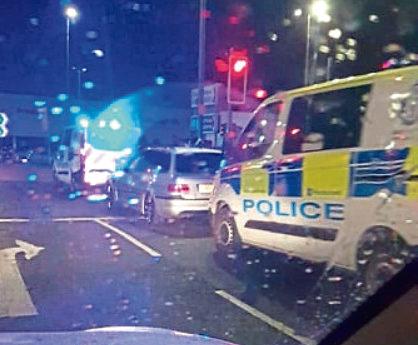 Police At East Marketgait