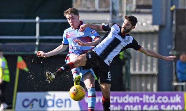 On-loan attacker Scott Wright (left) will be back in the fold for Dundee after sitting out against parent club Aberdeen last Saturday