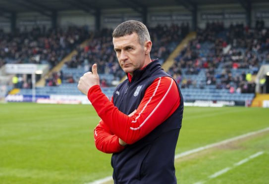 Dundee manager Jim McIntyre is looking for a response.