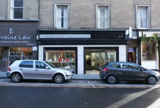 Walker the Jeweller in Union Street, Dundee