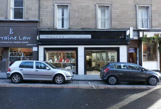 Walker the Jeweller in Union Street, Dundee