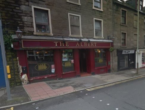 The Albert Bar.