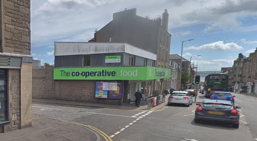 The Co-op store in Albert Street.