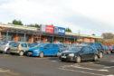 The Aldi store in Lochee.