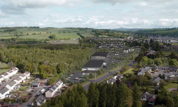 The development will add to the Blairgowrie population.